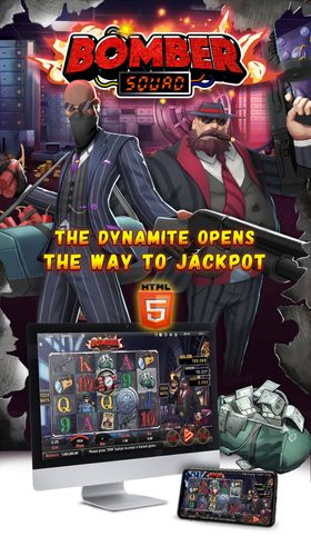 The dynamite opens the way to jackpot