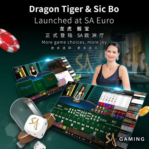 Dragon Tiger & Sic Bo launched at SA Euro