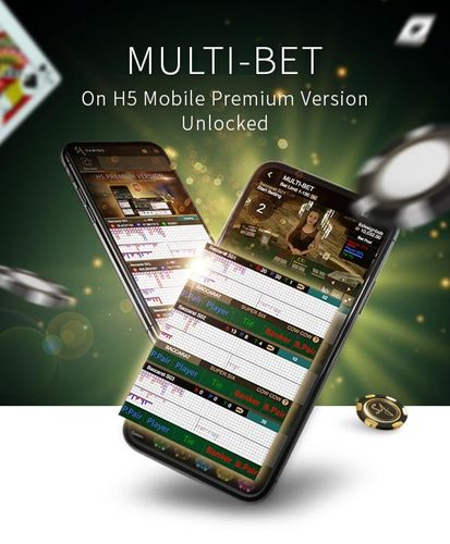 SA Gaming – Multi-Bet has arrived on your mobile!