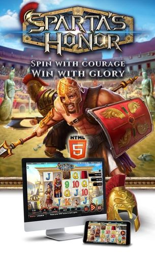 Spin with courage Win with glory
