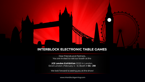 Interblock to Display the Future of Table Games at ICE 2020