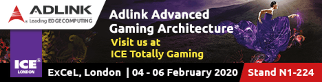 ADLINK to Showcase Intelligent Gaming Solutions at ICE Totally Gaming 2020