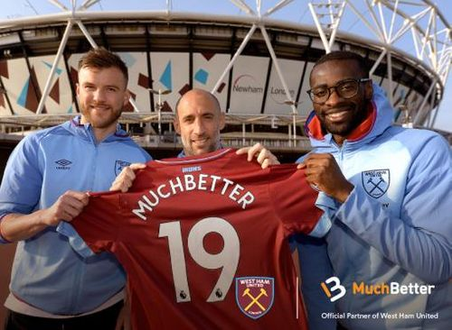 West Ham United announce MuchBetter as Official Online & Digital Payments Wallet Partner