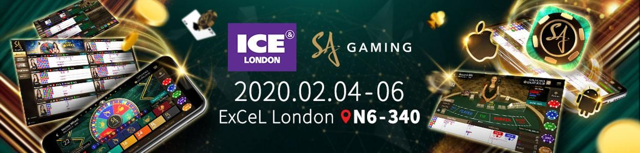 SA Gaming - ICE London - Welcome to the World's Gaming Innovation Showcase