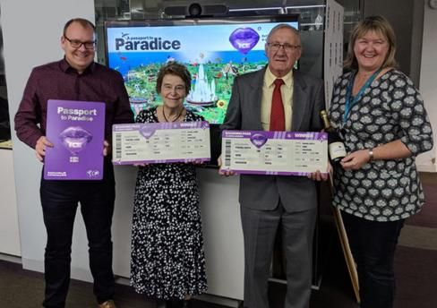 ICE London visitors win trip to Paradise