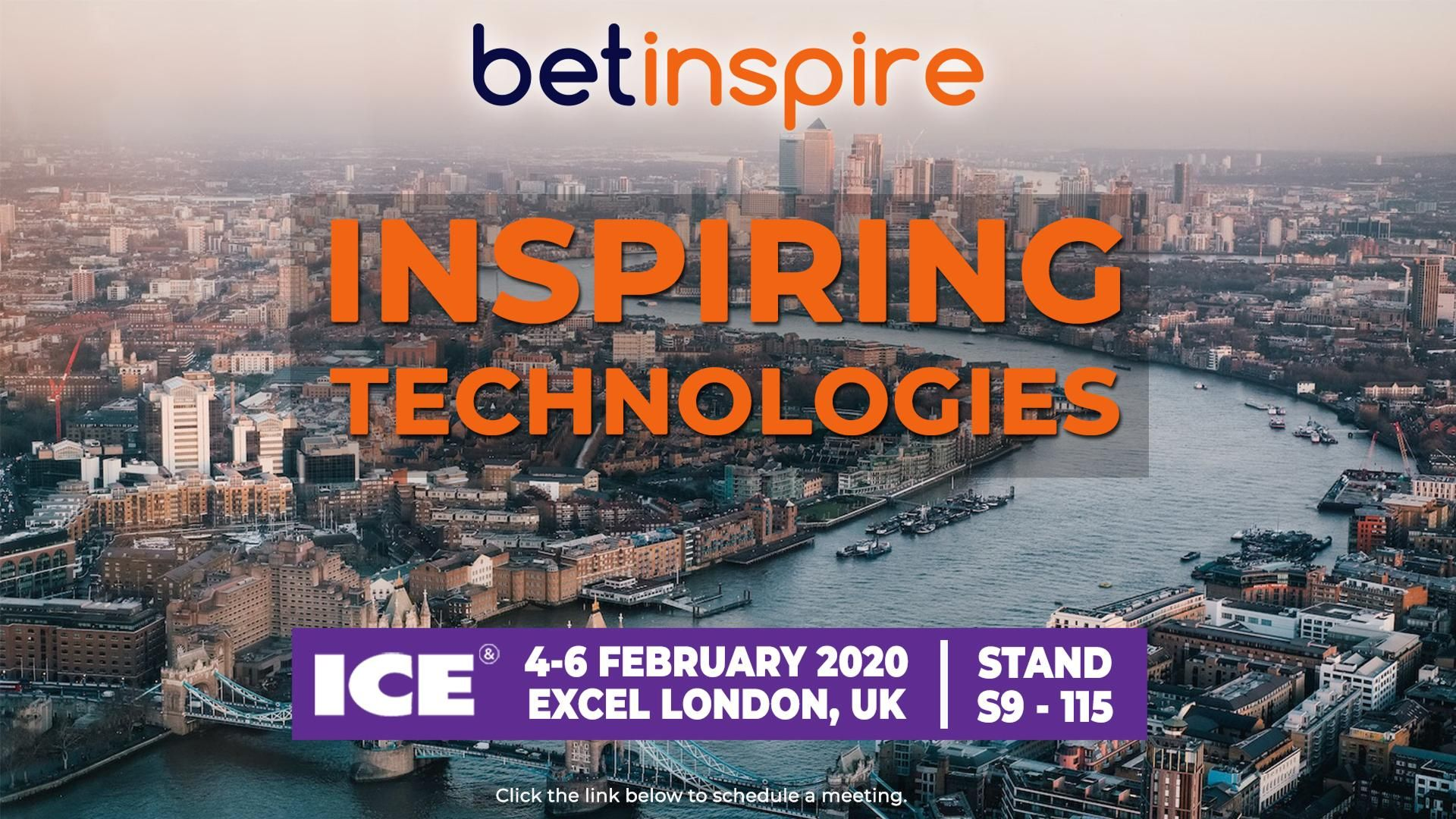 Meet Betinspire at ICE London 2020  - stand #S9-115