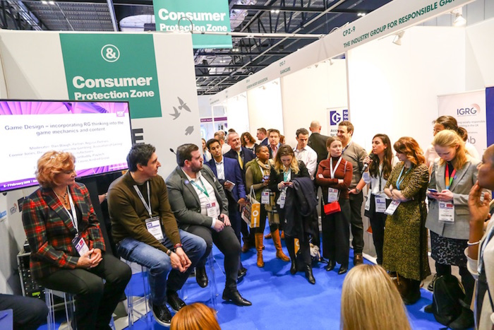 Sponsors are quick to support Consumer Protection Zone at ICE London