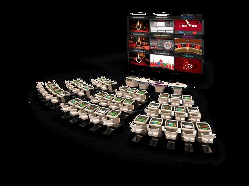 Aura Amphitheater Gaming Solution