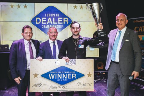 Tamas Adam from Switzerland crowned European Dealer Champion 2019