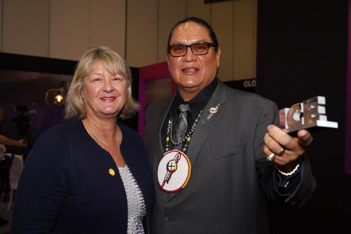 Ernest L. Stevens, Jr. receives ICE Landmark Award for contributions to the industry