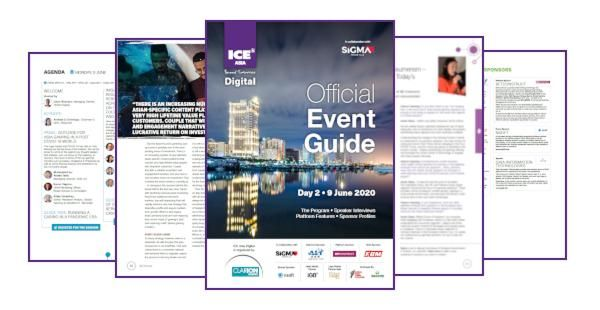 ICE Asia Digital Event Guide Day Two