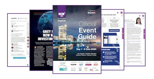 ICE Asia Digital Event Guide Day One