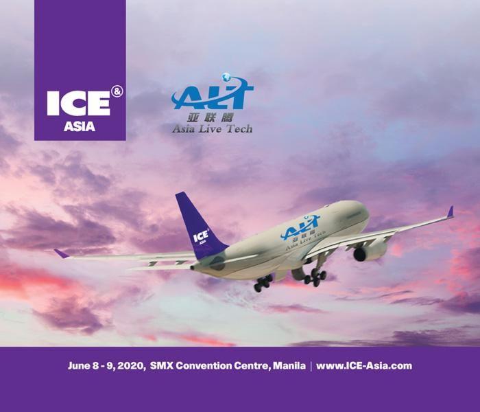 Asia Live Tech named as ICE Asia Diamond Sponsor