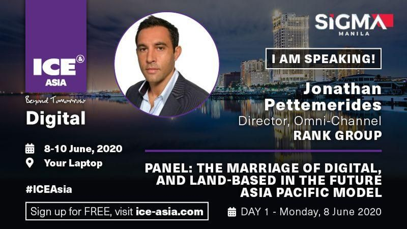 ICE Asia Digital – Interview with Jonathan Pettemerides of The Rank Group