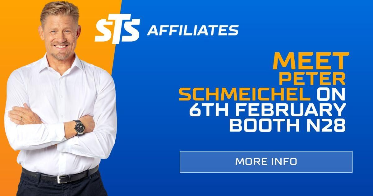 Meet Peter Schmeichel at iGB Affiliate London at STS Affiliates stand N28