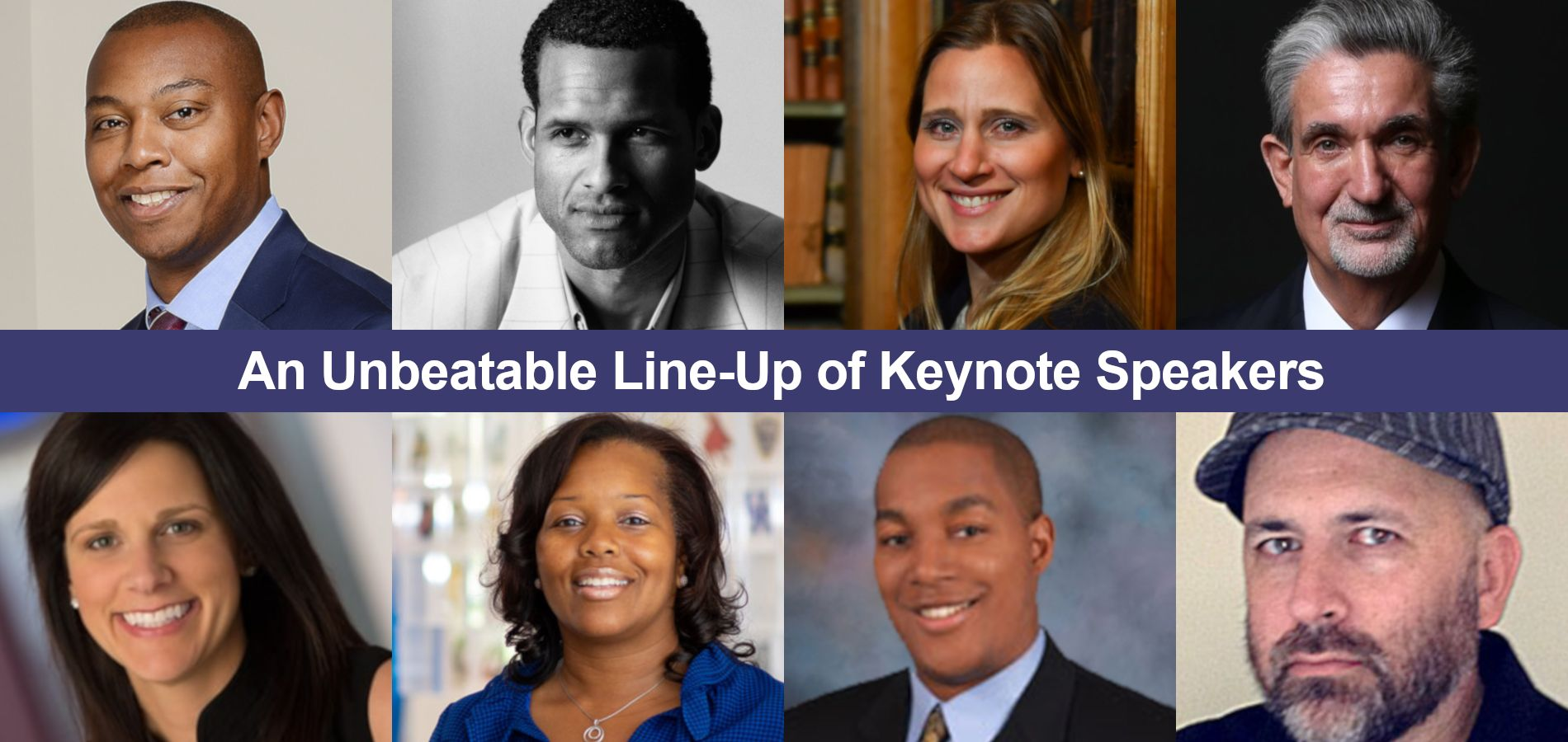 An Unbeatable Line-Up of Keynote Speakers