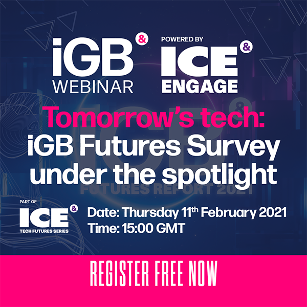 Tomorrow's tech: iGB Futures Survey under the spotlight