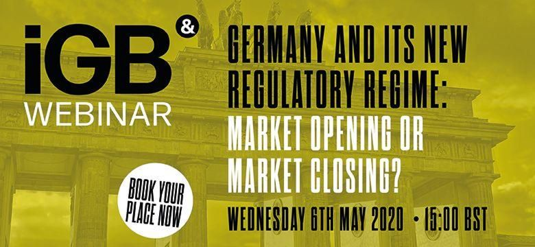 Germany and its new regulatory regime – market opening or market closing?