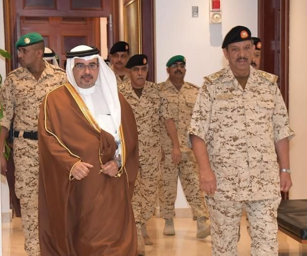 Bahrain's Crown Prince Visits Defense Force General Command