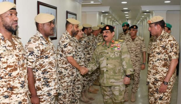 King pays tribute to BDF troops