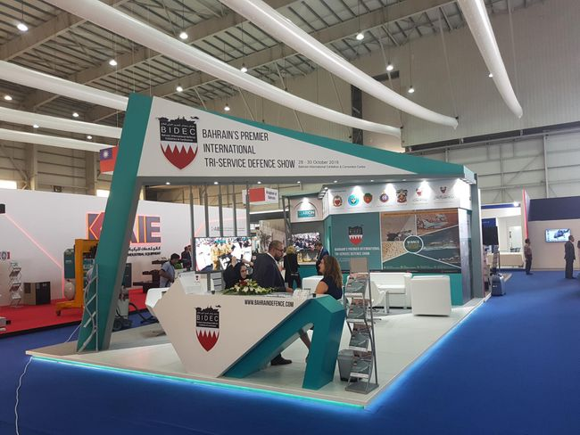 BIDEC 2019 Exhibit at Bahrain International Air Show