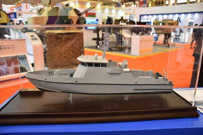 Swift Ships showcases fast patrol vessel and coastal patrol boat