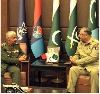 Bahrain & Pakistan Discuss Military Cooperation