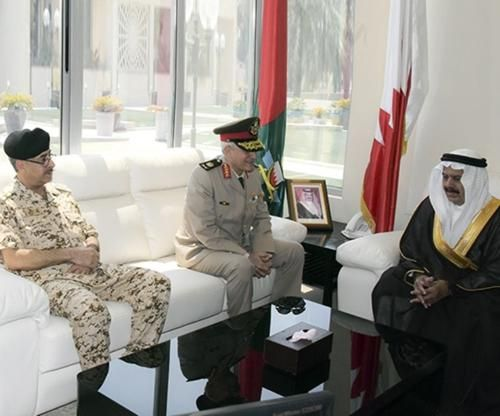 Bahrain Receives Egyptian Military Delegation
