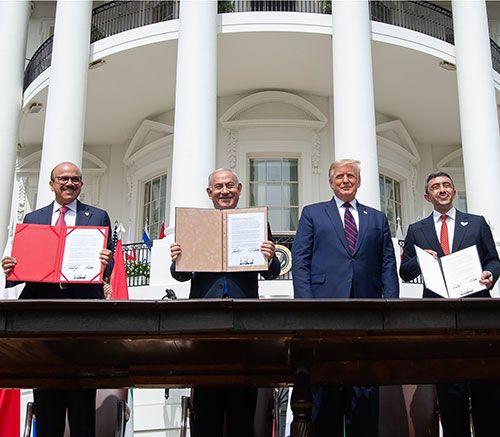 UAE, Bahrain Sign Peace Treaties with Israel
