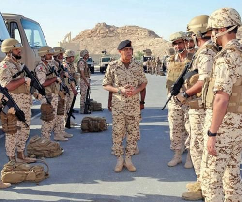 Bahrain Takes Part in Gulf Shield 1 Drill in Saudi Arabia