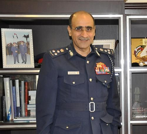 Bahrain Coast Guard Commander Receives US Naval Chief