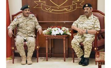 Bahrain-Saudi military ties discussed