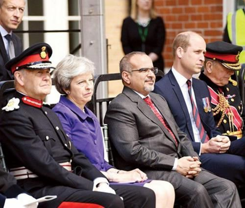 Bahrain's Crown Prince Attends Handover of UK's Defence & Rehabilitation Center