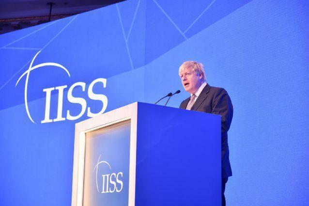 Boris Johnson's Keynote Address at The IISS Manama Dialogue 2016