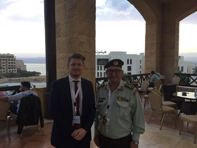 BIDEC Team visit Military Medical event in Jordan