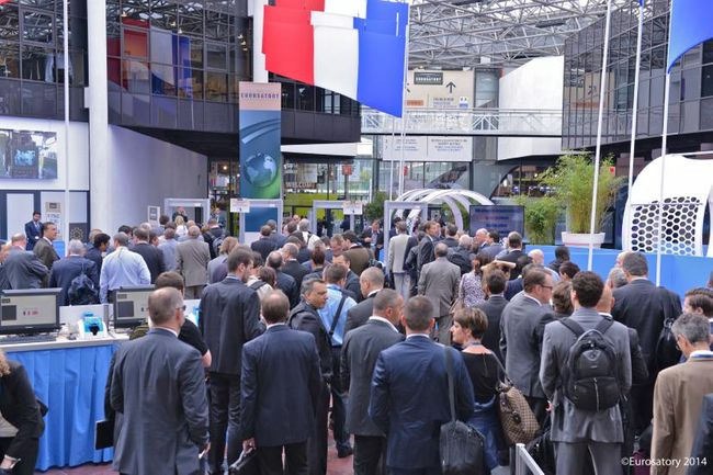BIDEC Team visit Eurosatory Paris