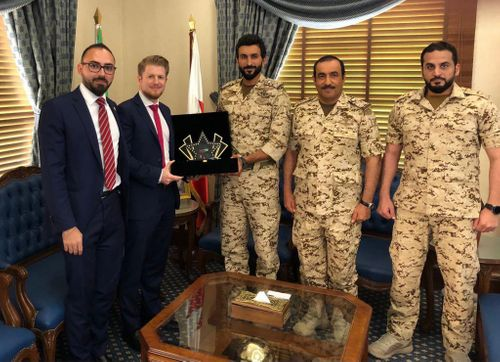 H.H. Shaikh Nasser bin Hamad Al Khalifa Presented with MESE 2018 Award