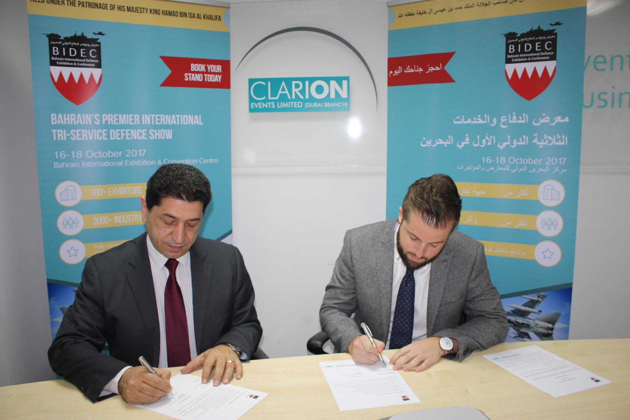 Arab National Security Forum, NSA Forum announced as Official Arabic Online Media Partner for BIDEC 2017