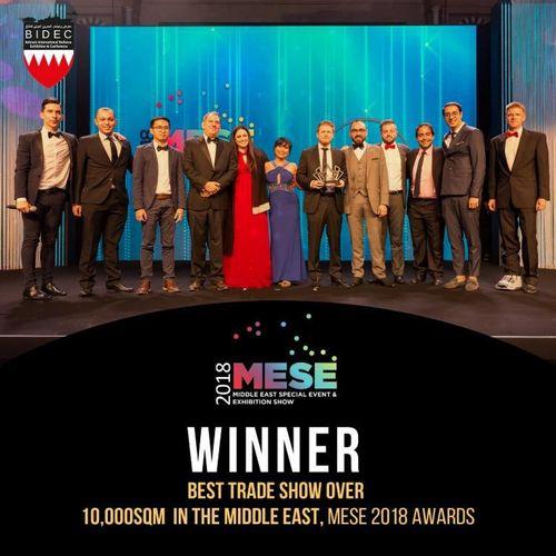 BIDEC Wins Prestigious Award