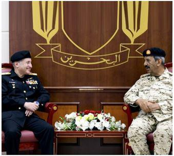 Bahrain Defense Chief Receives Pakistan Navy Chief-of-Staff
