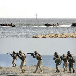 Royal Marines take part in Exercise Pearl Dagger in Bahrain
