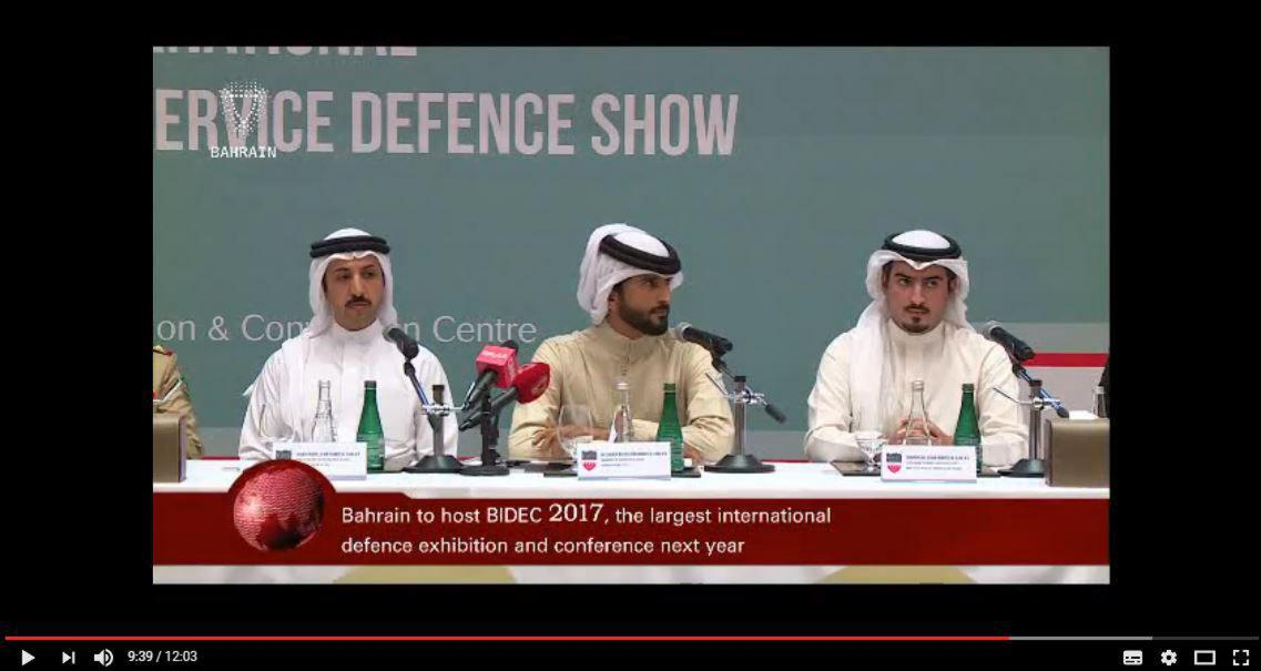 See Video Coverage from the BIDEC 2017 Press Conference