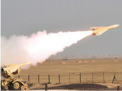 Royal Bahrain Air Force Tests Fires Hawk Missiles