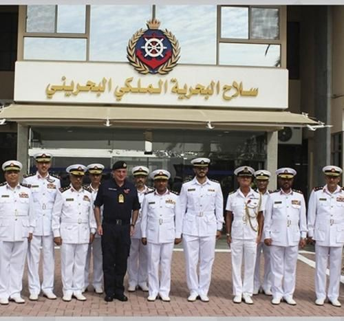 Royal Bahrain Naval Force Receives British Navy Chief