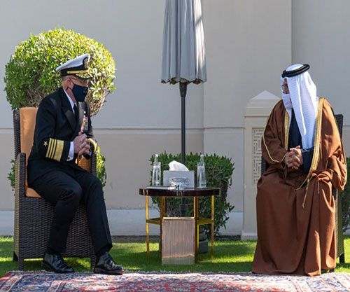US Chief of Naval Operations Visits Bahrain