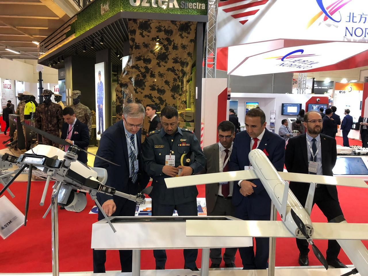 BIDEC team attend IDEF in Turkey