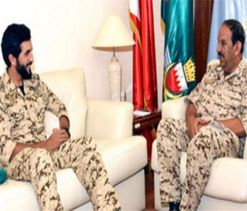 Bahrain's Defense Chief Receives Royal Guard Commander