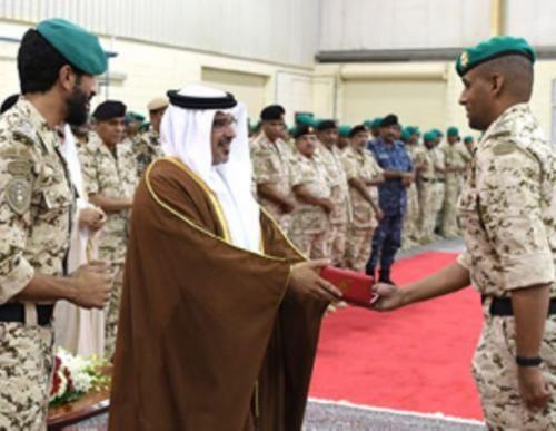 Bahrain's Crown Prince Visits Royal Guards Headquarters