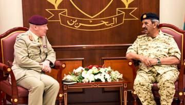 Commander-in-Chief receives British senior military official