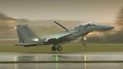 Saudi Arabia receives first F-15SA Eagle fighters